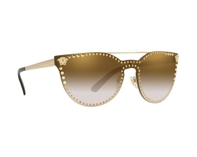 5e451aac67f Versace Sunglasses Ve 2177 12526u Pale Gold 45 Mm for sale online
