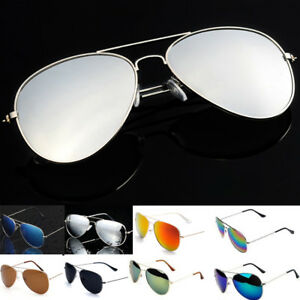 Vintagee-Sunglasses-Womens-Men-Eyewear-Metal-Frame-Oversized-Fashion-Mirror-Lens