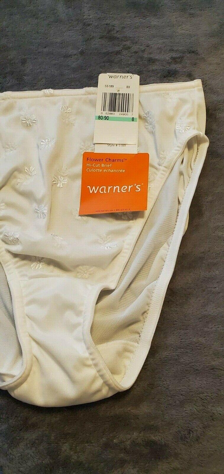 Warners Flower Charms Panties