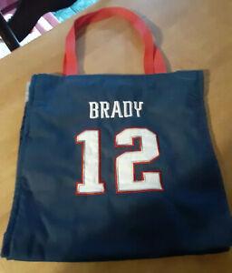 New England Patriots Tom Brady Embroidered Jersey Shopping Bag   eBay