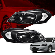 Black Housing Headlightssignal Fit For 06 13 Impala06 07 Chevy Monte Carlo Fits 2006 Impala