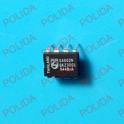 5PCS  IC PHILIPS//SIGNETICS DIP-8 SA602N