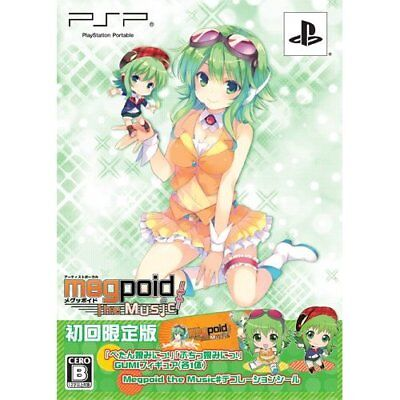 Used PSP Megpoid the music Limited Edition Japan Import