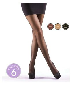 c2dda74ff699a3 Image is loading Silky-Light-Support-Tights-M-L-XL-Compression-Tights-
