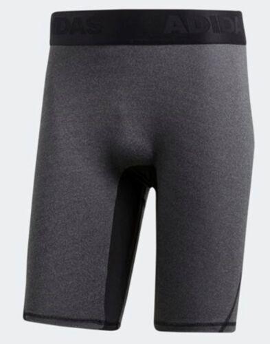 Adidas Men Alphaskin Tech Compression Tights Pant Black Shorts Tight Pant CD7211