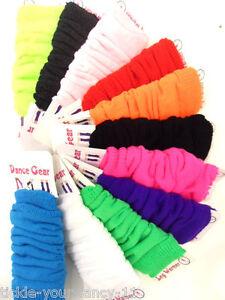 Women-039-s-1980-039-s-Neon-Fancy-Dress-Legwarmers-Dance-Socks-UV-Fluorescent-Hen-Theme