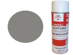 1x-Pulverisation-400ml-1K-Peinture-Ral-9007-Gris-Aluminium-Aucun-Verni-Acryl-Mat