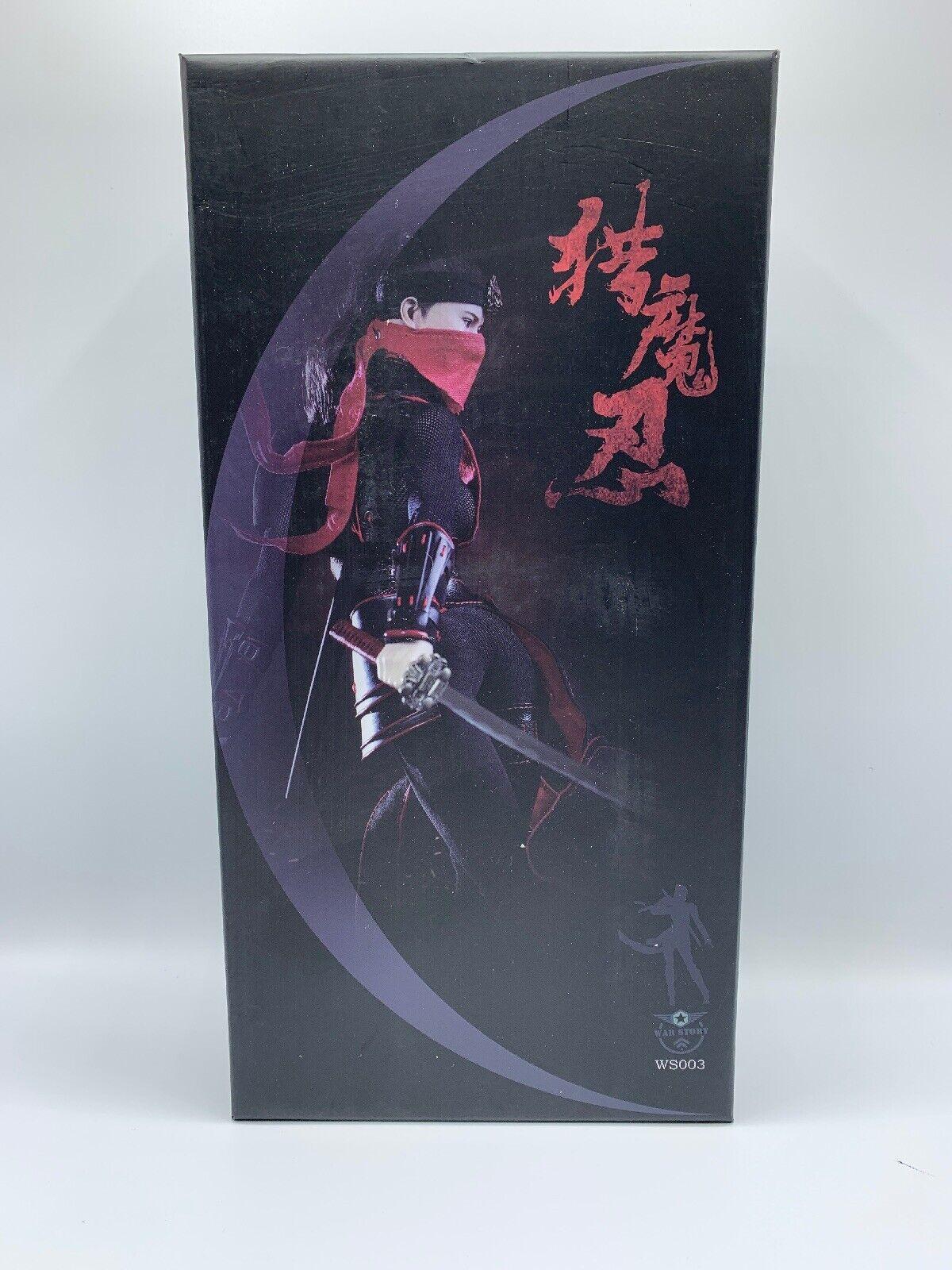 WAR storia storia storia 1 6th WS003 Female Samurai Sexy donna Hunting cifra With Phicen corpo 394cb4