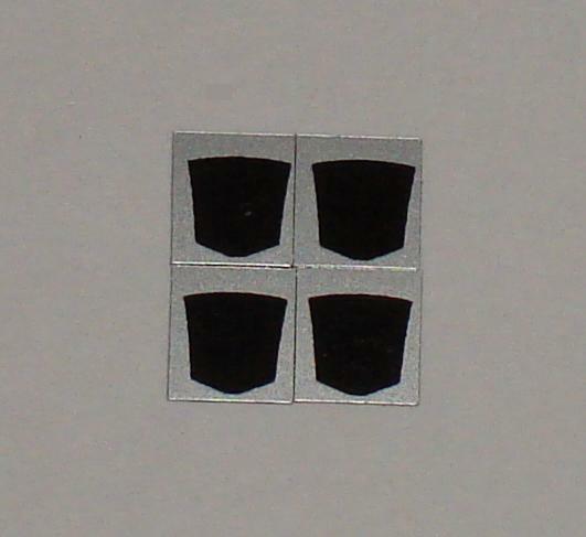 G1 Decepticon Symbol Insignia Logo Sticker Decal Sheet