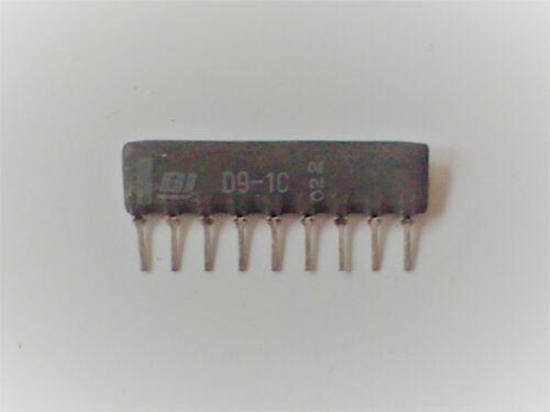 D9-1C Diodenmatrix von BI-technologies 8 Dioden Pin 1 in Common Cathode 10 Stück