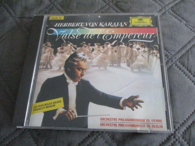 """COFFRET 2 CD """"VALSE DE L'EMPEREUR"""" HERBERT VON KARAJAN"""
