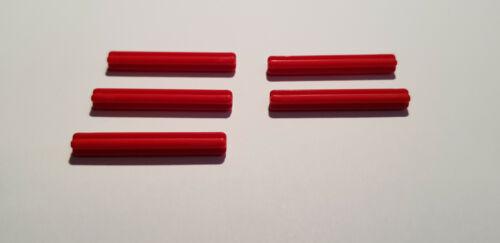 LEGO® 5 x 3705 Achs Kreuz Stange 4L rot 6129995 Technik N70