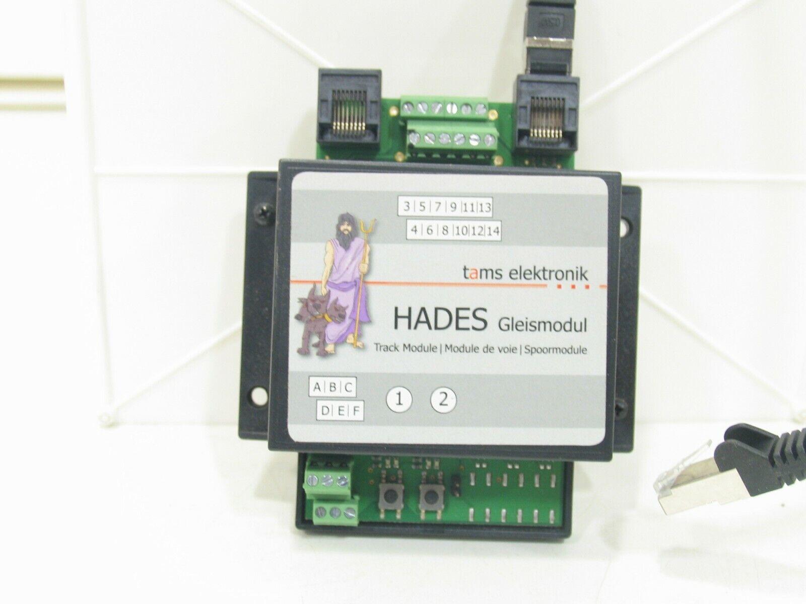 Schattenbahnhofsteuerung Hades Basismodul tams elektronik mit Kabel NZ5312