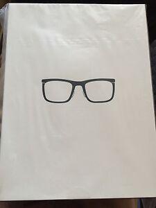 36e7e418fe Image is loading New-Bold-Charcoal-Titanium-Google-Glass-Glasses-Frames