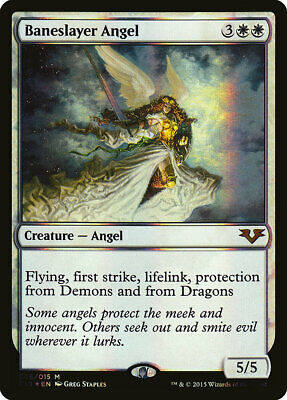 ~ MTG Angels ~ NearMint//Excellent Angel of Wrath ~ From the Vault FOIL Akroma