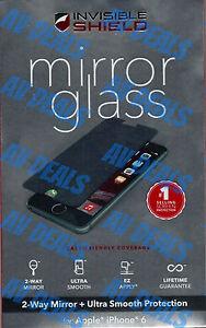 Zagg Mirror Glass Invisibleshield Iphone 6 6s 4 7 W Warranty Ebay