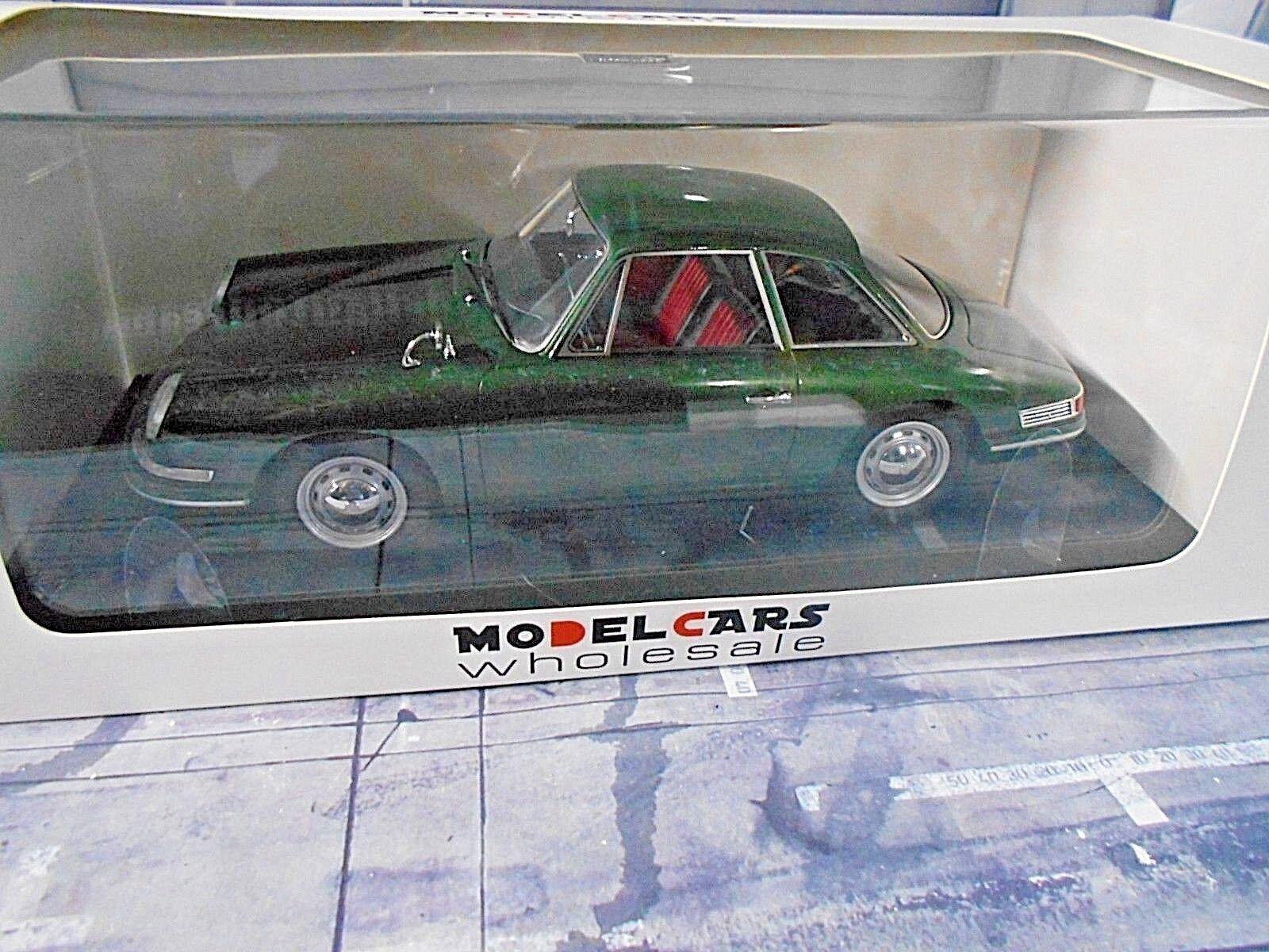 Porsche 911 754 t7 prougeotype étude 1959 vert Vert Nouveau 1 300 autocult 1 18