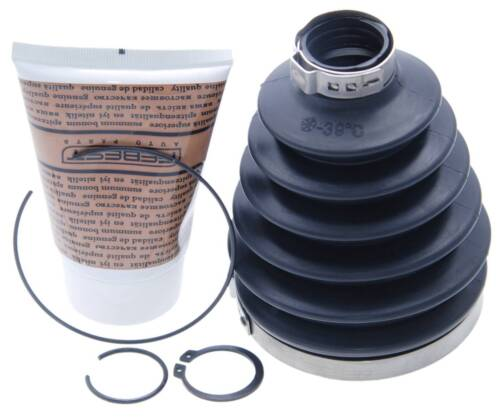 Boot Outer CV Joint Kit 86X123X26.5 FEBEST 0417P-KB4 OEM 4800864