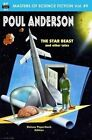 Masters of Science Fiction, Volume Nine, Poul Anderson by Poul Anderson (Paperback / softback, 2014)