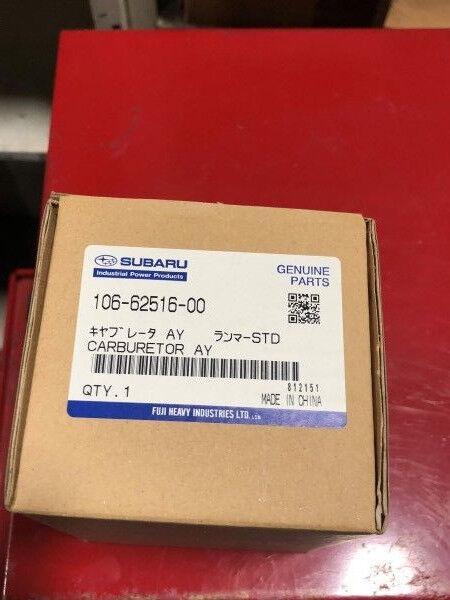 Cocheburador 106-62516-00 49-226 ROBIN SUBARU Original Equipment Manufacturer se adapta algunos EC10 Motores