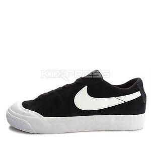 Nike SB Blazer Zoom Low XT [864348-019] Skateboarding Black/White-Gum