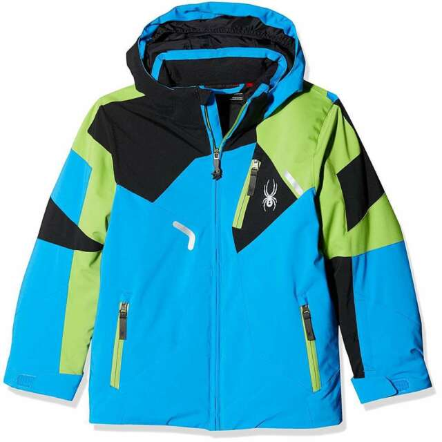 d2fa14058489 Spyder Little big Kid Boys Leader Ski Winter Snow Insulated ...