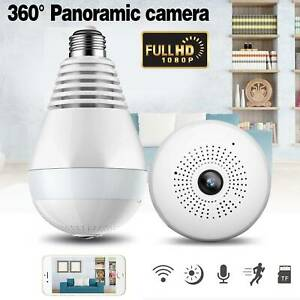 360-HD-Wifi-Bulb-Hidden-IP-Camera-Panoramic-Home-Security-Spy-Cam-Light-LED-Bulb