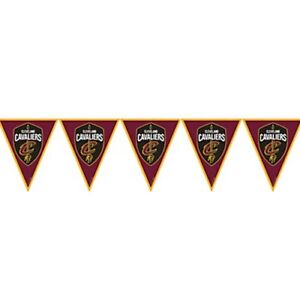 Nba Cleveland Cavaliers Plastic Flag Banner Birthday Party