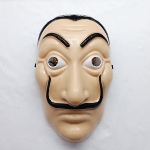 Cosplay Haus des Geldes La Casa de Papel Maske Horror Halloween Kostüm Masken