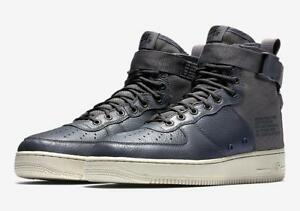 the latest 75a1e ba907 Image is loading NIKE-SF-AF1-MID-917753-004-DARK-GREY-