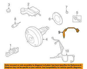 image is loading volvo-oem-04-11-s40-vacuum-hose-31406272