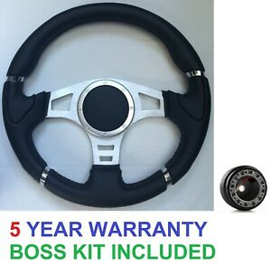 RACE SPORTS STEERING WHEEL AND BOSS KIT FIT VW GOLF GTI  MK3 CADDY LUPO POLO