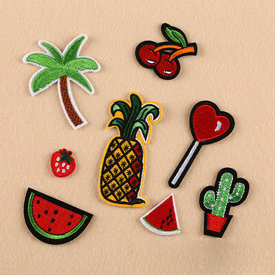 Mixed Embroidery Sew Iron On Patch Badge Fabric Clothes Transfer Applique Craft