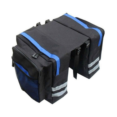 Easy Install Bicycle Rear Rack Bag Universal Waterproof Trunk Saddle Pouch Bag