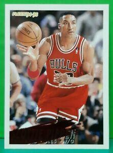 Scottie Pippen regular card 1994-95 Fleer #35