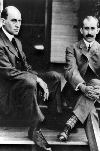 6 Sizes! Flight Pioneers Orville and Wilbur New Photo The Wright Brothers
