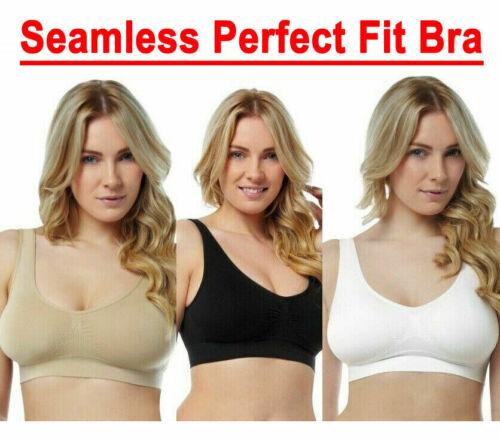 Seamless perfect fit bra ultimate comfort stretch bra underwear three colours
