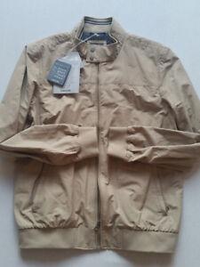 Geox Cobblestone XL Jacket 55 Taglia Outdoor Nuovo Beige Men rPrpxqz6
