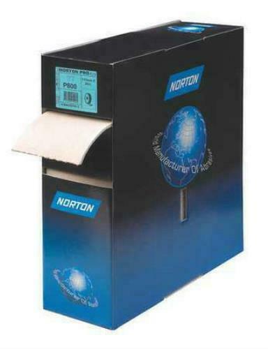 "Norton Pro 636425-57611 P500 Grit 4-1//2/"" x 82/' Abrasive Foam Roll A275 115mmx25m"