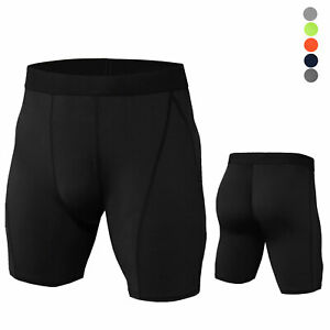 Men-Compression-Shorts-Gym-Workout-Moisture-Wicking-Bottoms-Tight-fit-Activewear