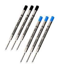 Schmidt P900 M Ballpoint Pen Refill Medium 2Pcs Pack X2 =4 Pieces Blue Color