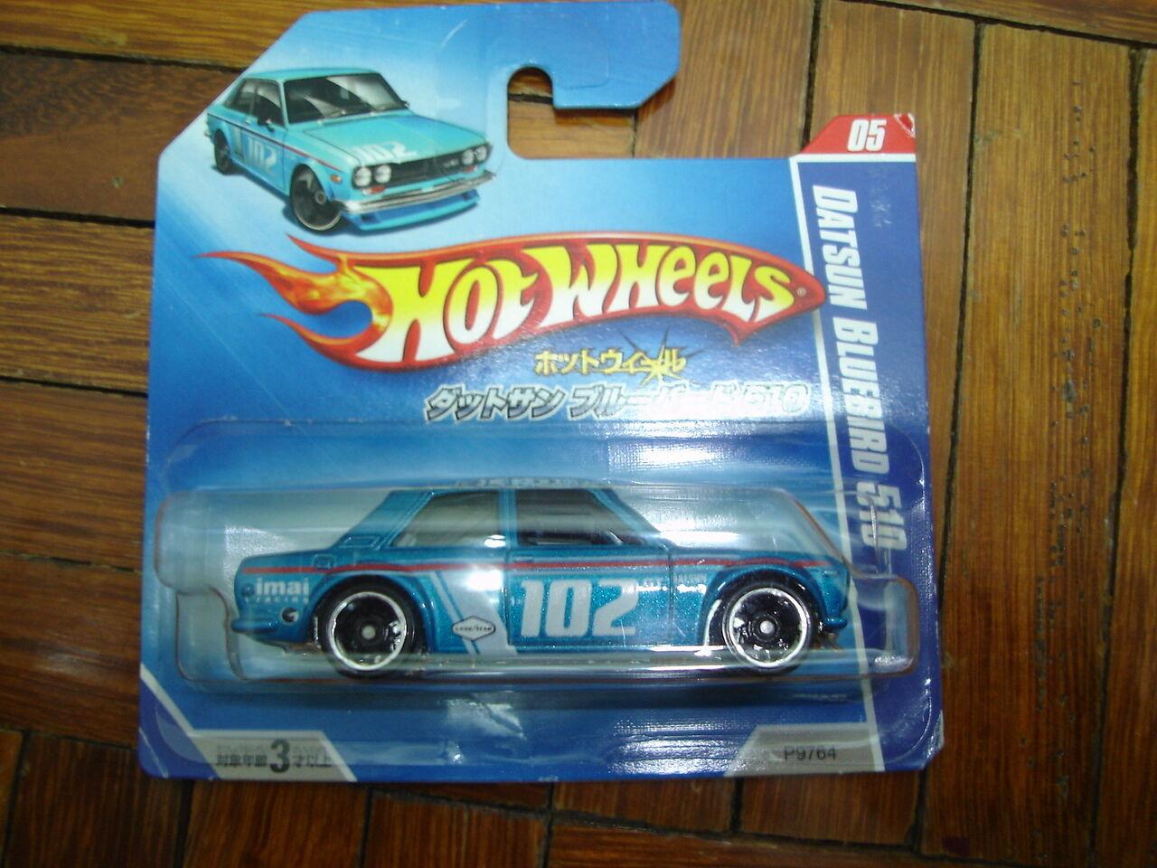 Hot Wheels Wheels Wheels Japon Carte très rare Datsun Bluebird 510 Première édition NEUF pas T HUNT | Magasiner  | Porter-résistance  ca53ad
