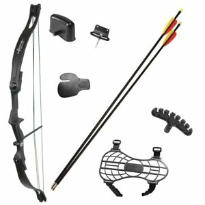 17-21lbs-Pro-Compound-Bow-Package-Kit-Arrow-Archery-Practice-Hunting-Fishing