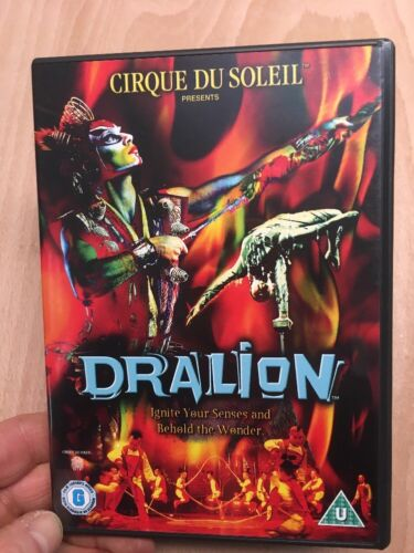 1 of 1 - Dralion:Crique Du Soleil-Peter Waag Guy Laliberte(R2 DVD)Acrobatic Used VGC