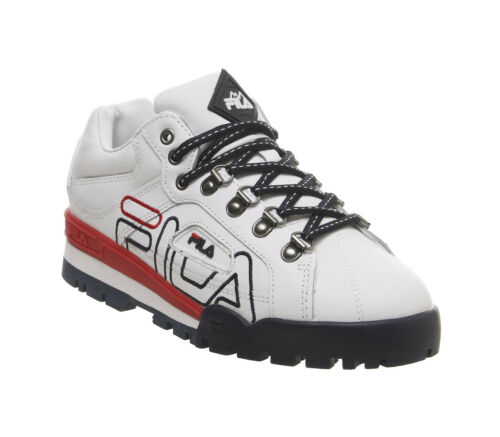 Chaussures sport Trail Red pour Navy F Fila de femme Blazer White 44qp7xS