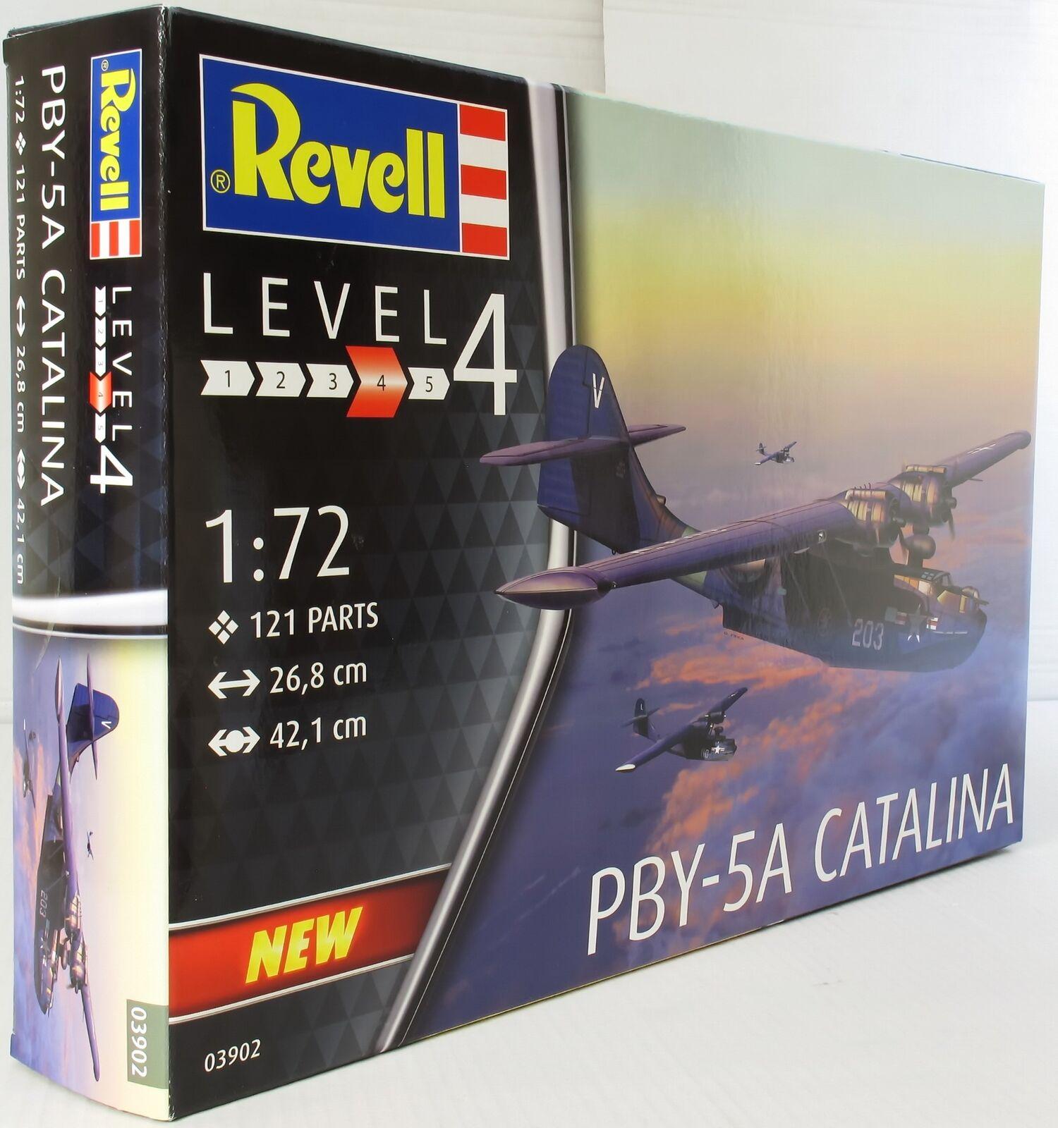 Revell 1 72 03902 PBY-5a Catalina Model Aircraft Kit