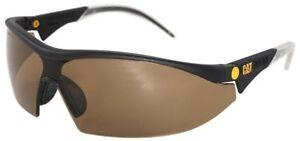 CAT-Digger-Safety-Glasses-Sunglasses-Black-Frame-Brown-Lens-ANSI-Z87