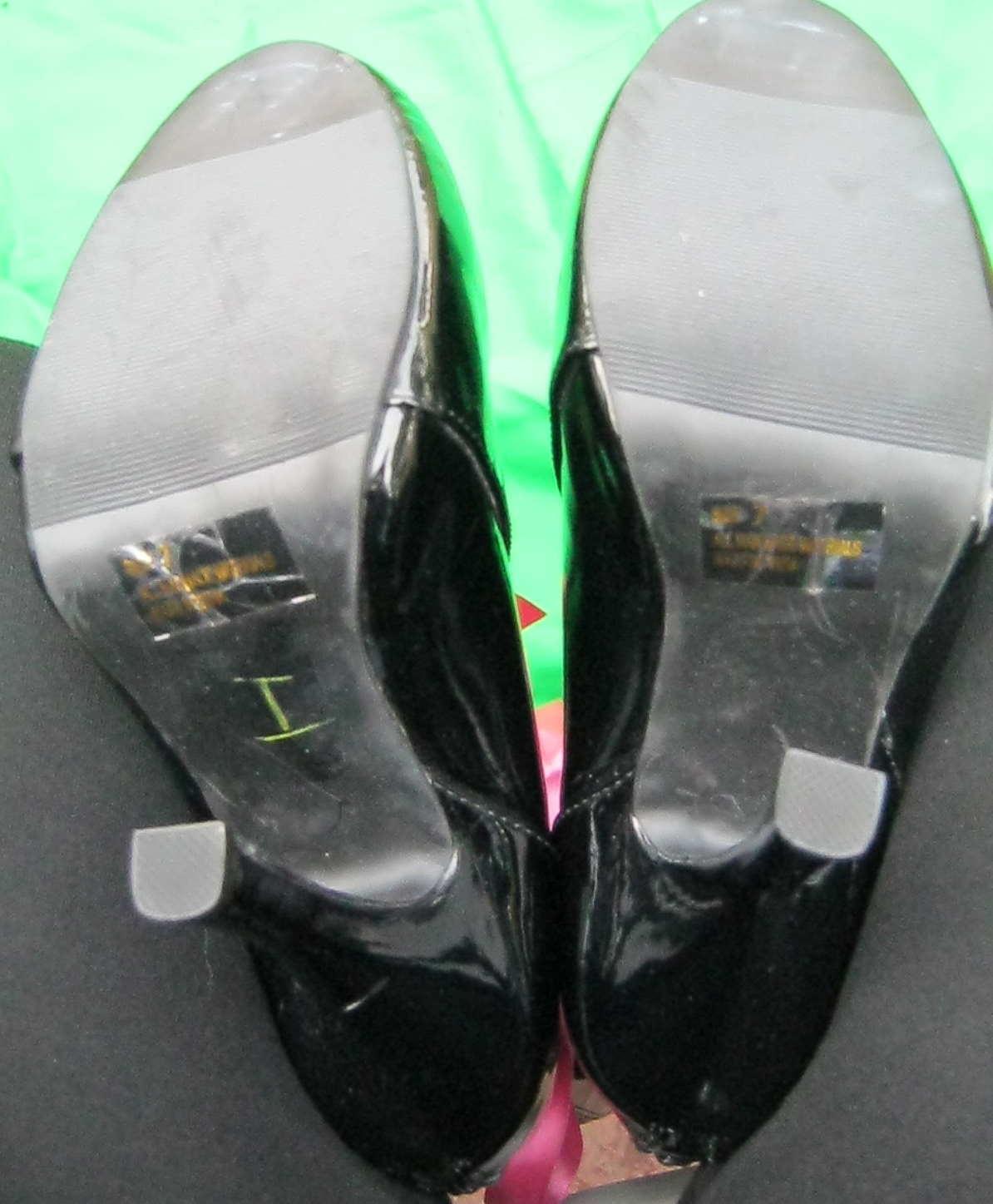 botas, 7m Negro Penthouse castidad Stiletto ph423 rosadodo de cinta de cremallera Stiletto castidad BOX TOE 96d679