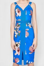 0cb10798a item 3 Ted Baker London Bright Blue Harmony Floral Bodycon Size 5 US 12  Retail $315 -Ted Baker London Bright Blue Harmony Floral Bodycon Size 5 US  12 Retail ...