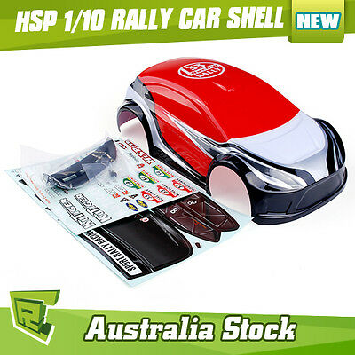 HSP 1/10 RC Off Road Rally Car Body Shell Part 17794